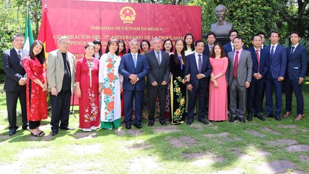 Embajada de Vietnam en Mexico celebra Dia Nacional hinh anh 3