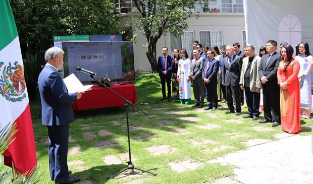 Embajada de Vietnam en Mexico celebra Dia Nacional hinh anh 2
