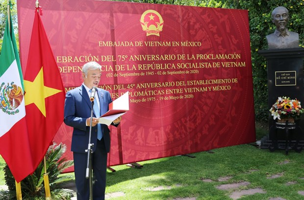Embajada de Vietnam en Mexico celebra Dia Nacional hinh anh 1