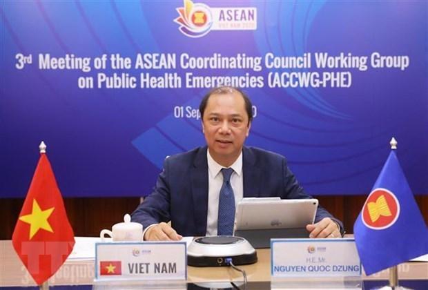 Vicecanciller vietnamita asiste a reuniones de ASEAN hinh anh 1
