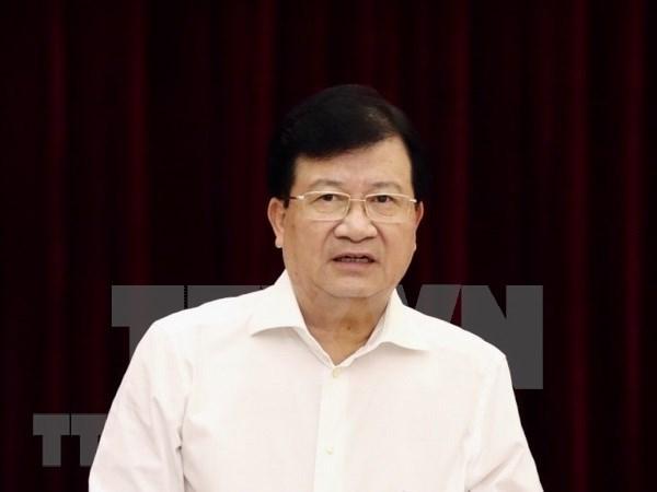 Asume el vicepremier Trinh Dinh Dung como presidente de la Comision del Rio Mekong de Vietnam hinh anh 1