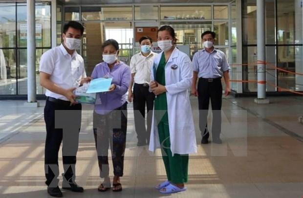 Recuperan a otros 16 pacientes del COVID-19 en Vietnam hinh anh 1