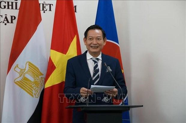 Resaltan en Egipto lazos binacionales en ocasion del aniversario 75 de Dia Nacional de Vietnam hinh anh 1