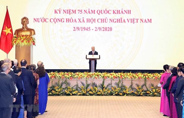 Destaca periodico aleman logros vietnamitas a lo largo de 75 anos hinh anh 1