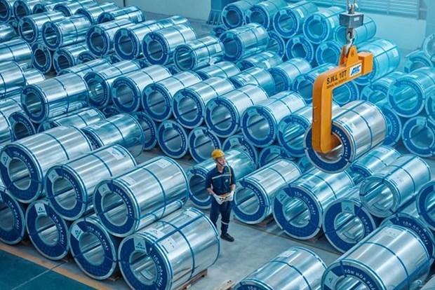 Productor vietnamita de acero mantiene perspectivas a pesar de COVID-19 hinh anh 1