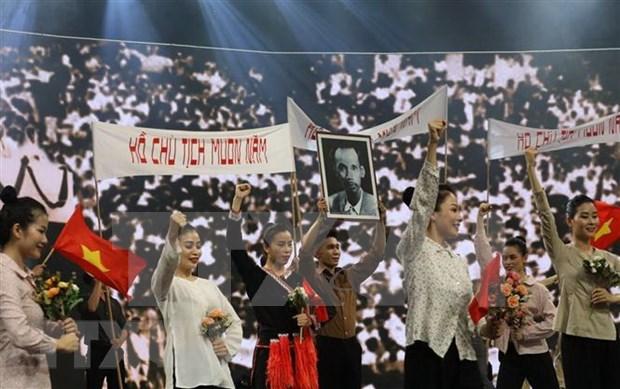 Celebran programa especial por aniversario 75 de la independencia de Vietnam hinh anh 1
