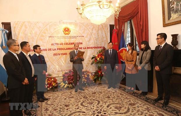 Celebran 75 aniversario del Dia Nacional de Vietnam en Argentina hinh anh 1
