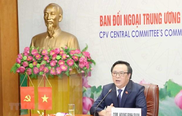 Fortalecen nexos entre Partidos Comunistas de Vietnam y Japon hinh anh 1