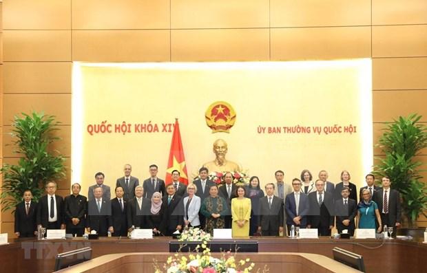 Asamblea General 41 de AIPA, actividad importante de Parlamento de Vietnam hinh anh 1