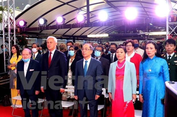 Embajadas vietnamitas en Polonia y Austria celebran Dia Nacional hinh anh 1