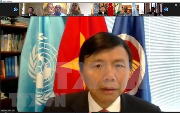 Mision permanente de Vietnam ante ONU conmemora Dia Nacional del pais indochino hinh anh 1