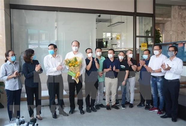 Finaliza brigada medica de Ciudad Ho Chi Minh mision contra coronavirus en Da Nang hinh anh 1