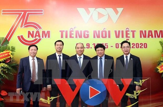 La Voz de Vietnam celebra el 75 aniversario de su fundacion hinh anh 1