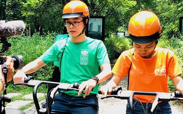 Lanzan en Vietnam iniciativa sobre transportacion verde y amigable con medioambiente hinh anh 1