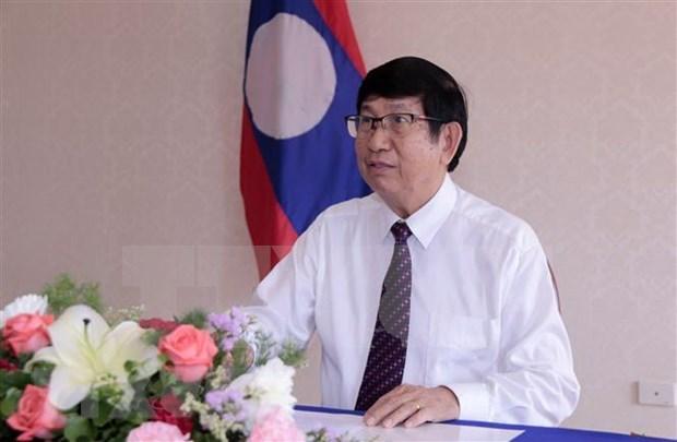 AIPA 41: Funcionario laosiano valora ideas de Vietnam hinh anh 1