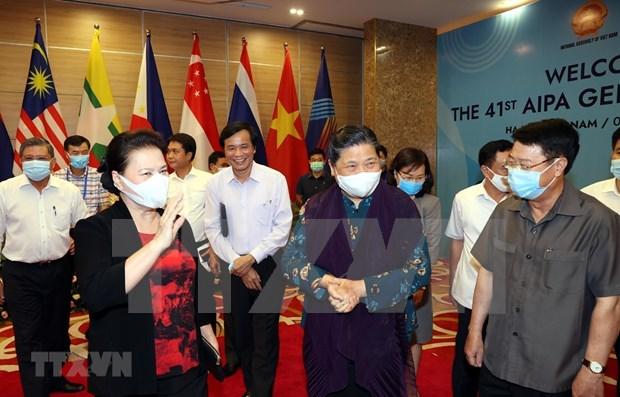 Destacan desempeno de AIPA en la integracion de los paises de la ASEAN hinh anh 1
