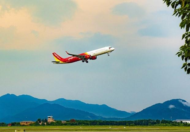 Vietjet Air reanudara vuelos domesticos de conexion con ciudad de Da Nang hinh anh 1