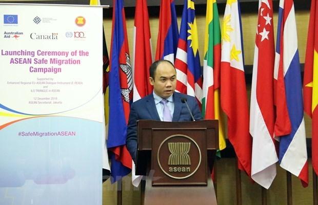 Secretario general adjunto de ASEAN alaba papel de AIPA en integracion internacional hinh anh 1