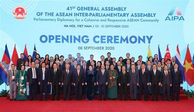 Resaltan aportes de Vietnam como presidente de AIPA 41 hinh anh 1