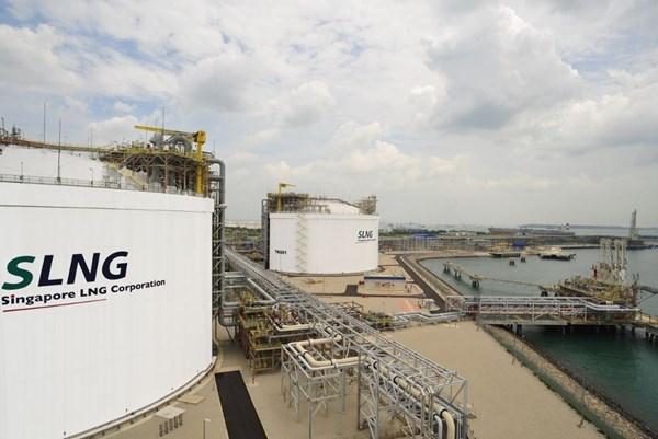 Mas de 50 empresas instalan centro de servicios de GNL en Singapur hinh anh 1