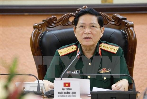 Vietnam y Camboya elevan eficiencia de cooperacion en defensa hinh anh 1