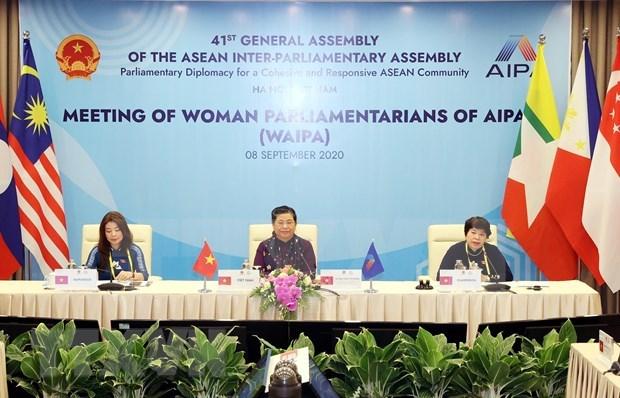 ASEAN debate oportunidades de empleo e ingreso para trabajadoras hinh anh 1