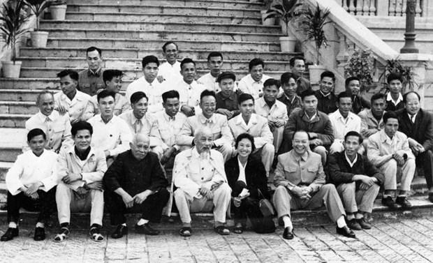 Orgullosos de los 75 anos de la Agencia Vietnamita de Noticias hinh anh 2