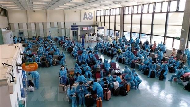 Vietnam trae de regreso a 230 ciudadanos varados en Taiwan (China) hinh anh 1