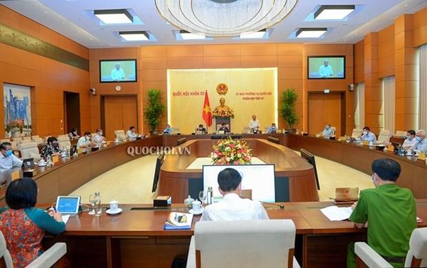 Comite Permanente de la Asamblea Nacional de Vietnam iniciara manana su 48 reunion hinh anh 1