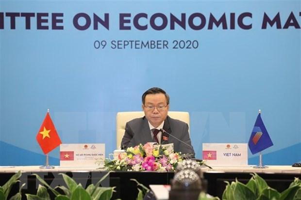 AIPA 41: Por cohesion y recuperacion economica de ASEAN tras pandemia de COVID-19 hinh anh 1