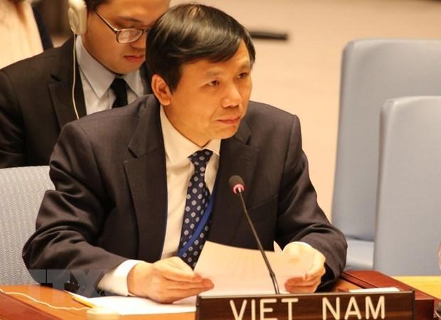 Vietnam exhorta en la ONU a implementar resolucion sobre juventud, paz y seguridad hinh anh 1
