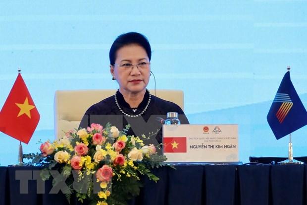 Resaltan organizacion exitosa de AIPA 41 y valiosas iniciativas de Vietnam hinh anh 1