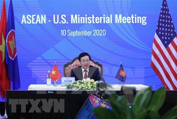 ASEAN fortalecen relaciones con Estados Unidos, Canada, Australia y Nueva Zelanda hinh anh 1