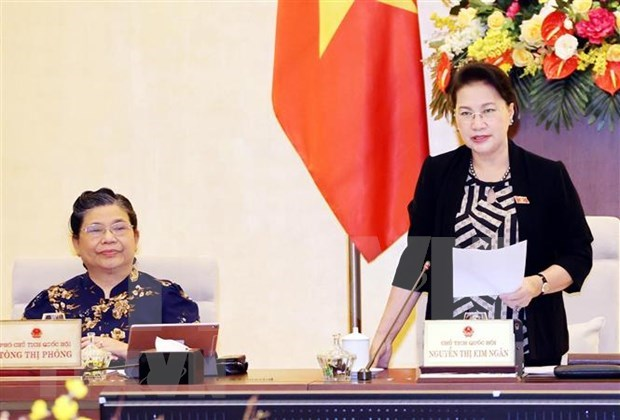 Inauguran 48 reunion del Comite Permanente del Parlamento de Vietnam hinh anh 1