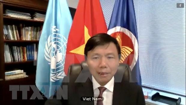 Vietnam pide pleno cumplimiento de alto el fuego global convocado por la ONU hinh anh 1