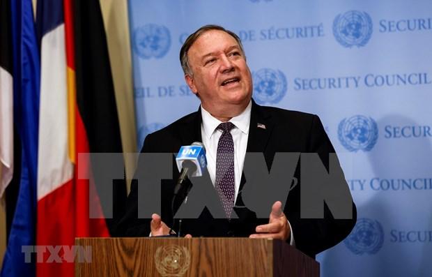 Estados Unidos elogia a Vietnam como presidente de la ASEAN, afirma Pompeo hinh anh 1