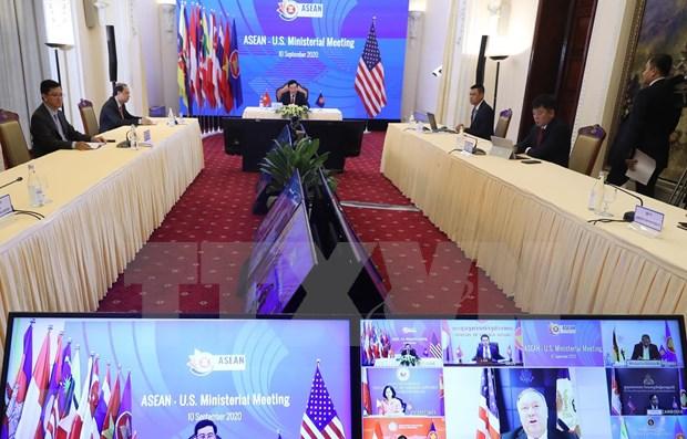Estados Unidos anuncia programas de cooperacion y apoyo con los paises de la ASEAN hinh anh 1