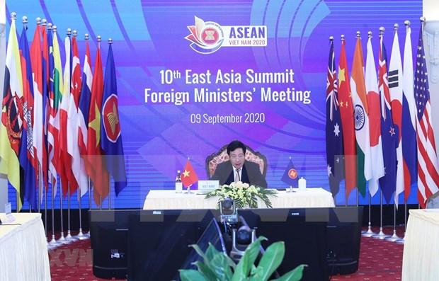Cancilleres de la ASEAN debaten otros contenidos importantes hinh anh 1