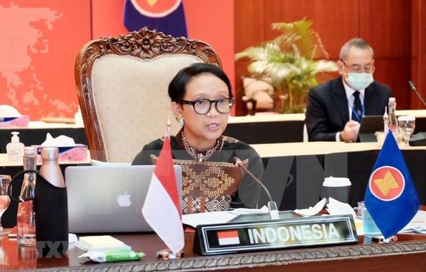 Indonesia expresa preocupacion por aumento de tensiones regionales hinh anh 1