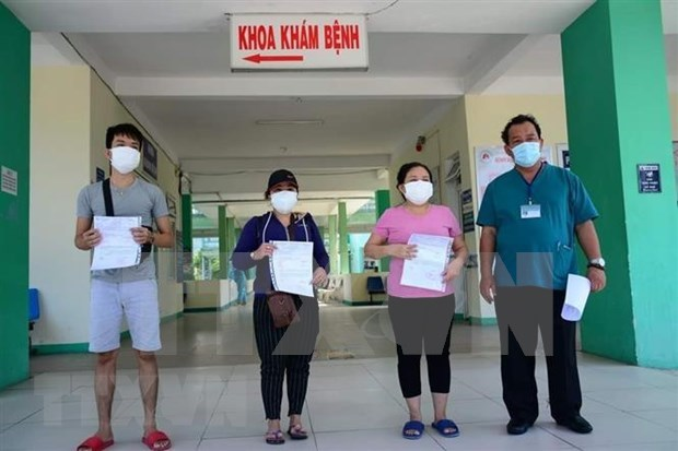 Vietnam registra cinco pacientes recuperados del COVID-19 hinh anh 1