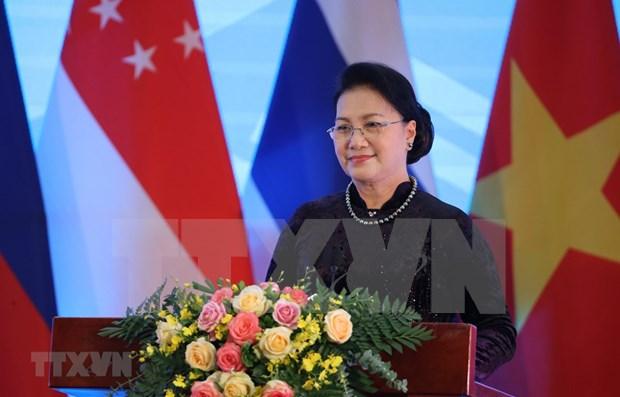 Brunei valora el liderazgo de Vietnam en AIPA 41 hinh anh 1