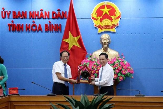 Provincia vietnamita de Hoa Binh presenta potencial y ventajas a empresas sudcoreanas hinh anh 1