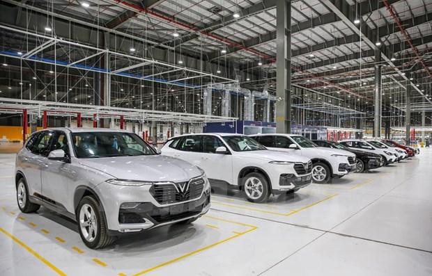 Caen las ventas de automoviles en Vietnam en agosto debido al COVID-19 hinh anh 1