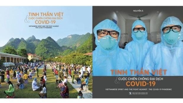 Publican libro fotografico sobre espiritu vietnamita en lucha contra COVID-19 hinh anh 1