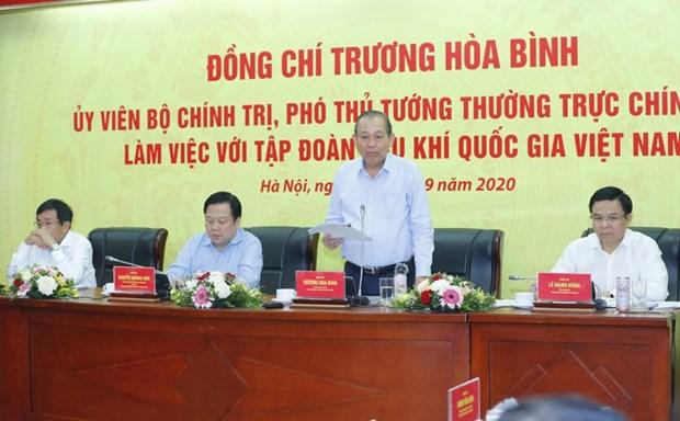 Valora vicepremier papel del grupo nacional de petroleo y gas hinh anh 1