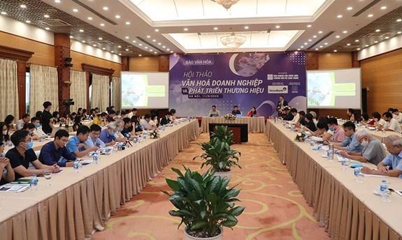 Vietnam por promover la cultura y la marca empresariales hinh anh 1