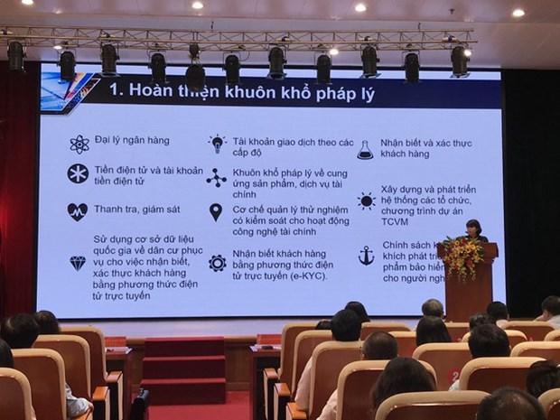 Conferencia para la implementacion de la Estrategia Nacional de Finanzas Inclusivas hinh anh 1