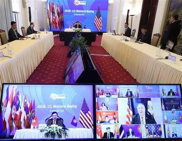 Reitera Camboya compromiso de impulsar aun mas lazos entre ASEAN y socios hinh anh 1