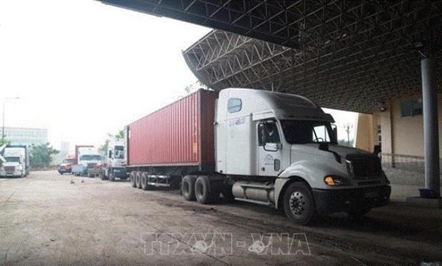 Nueva puerta fronteriza para promover el comercio entre Vietnam y Camboya hinh anh 1