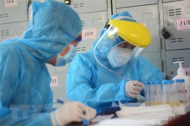 Suma Vietnam decimo dia sin nuevos casos de COVID-19 en la comunidad hinh anh 1